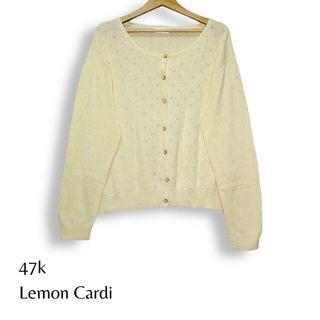 Lemon Cardigan