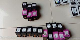 Menampung sebanyak banyak nya tinta cartridge printer baru dan bekas