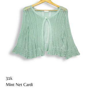 Mint Cardigan