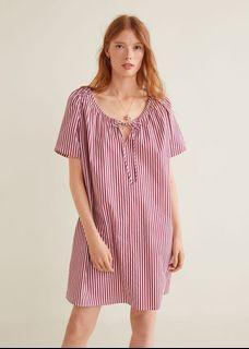 New!!Mango Stripe Dress
