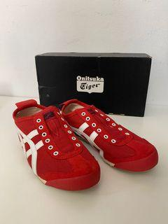 ONITSUKA TIGER Mexico 66 Slip-On - red - size 4.5 unisex / size 6 womens