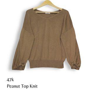 Peanut Top Knit