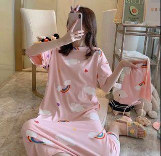 Piyama Dress Wanita