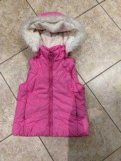 Size 4T vest with removable hood.