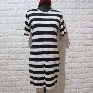 Stripes Tshirt Dress