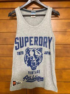 Superdry 透氣運動背心 Size: small