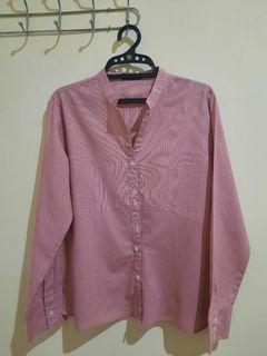 The Executive Soft Pink Blouse