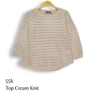 Top Cream Knit