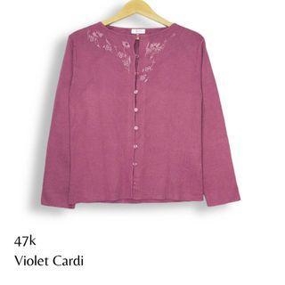 Violet Cardigan