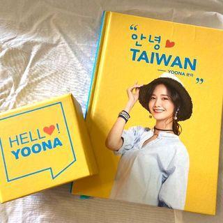 [代言周邊]潤娥Yoona-代言H:CONNECT系列周邊-筆記本、便條紙 🎁加送-廣告刊物(折疊海報一張)