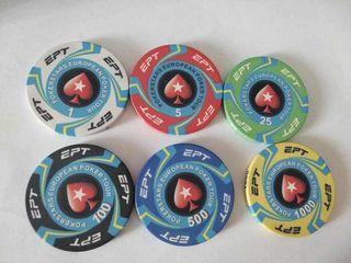 10g Ceramic Poker Chips / Poker Cards Copag Poker Table Poker chip set Texas holdem Mahjong