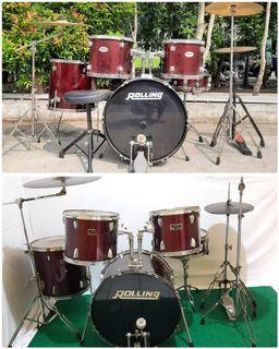 2 set drum rolling lengkap