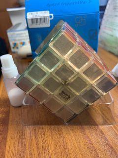 小丸號魔術方塊4X4X4 透明款