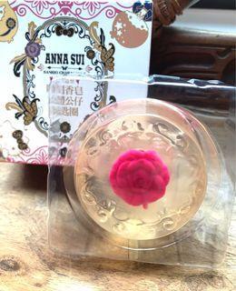 7-11  ANNA SUI 雕刻香皂立體公仔鑰匙圈-野玫瑰與覆盆子款