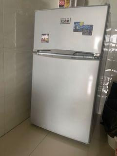 歌林90公升雙門小冰箱