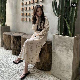 9.amez高級線條洋裝