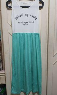 棉質輕薄款洋裝長裙