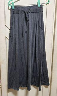 棉質輕薄長裙