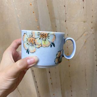 花朵馬克杯