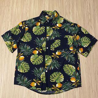 🍡二手🍡花花短袖襯衫