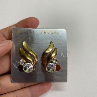 復古精緻耳環 夾式#3