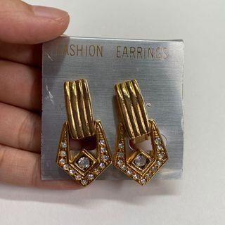 復古精緻耳環 夾式