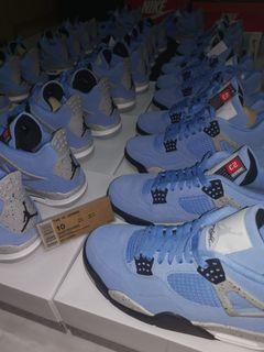(All Sizes Available) Nike Air Jordan 4 University Blue