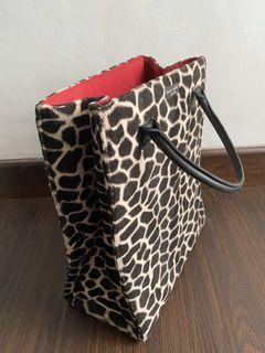 Authentic Kate Spade Animal Print Bag (Preloved)