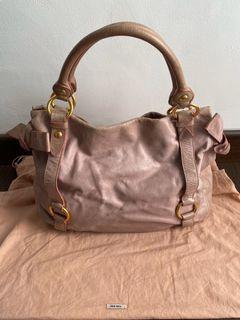 Authentic Miu Miu Pink Shoulder Bag (Preloved)