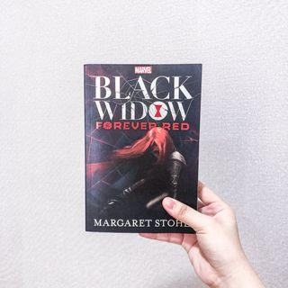 Black Widow Forever Red by Margaret Stohl Novel Import