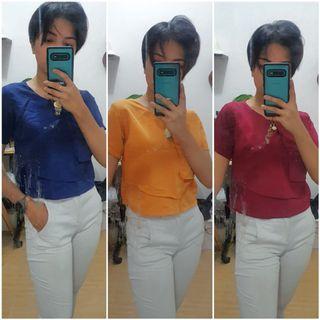 Bundle 3 tops + white pants