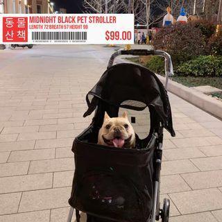 Cat Stroller Pet Trolley Jogger Pram