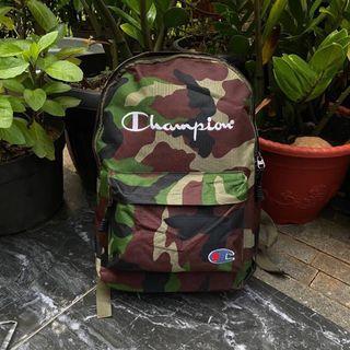 Champion  Camo bagpack tas