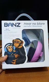 Earmufs BANZ pelindung telinga anak