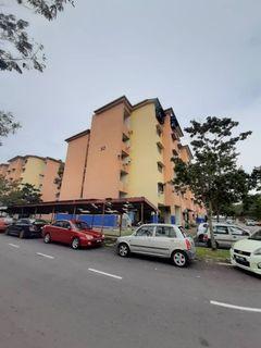 Flat PKNS Blok 52, Seksyen 7 Shah Alam - For Sale