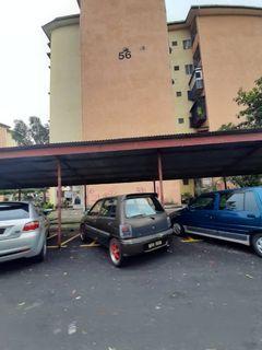 Flat PKNS Blok 56, Seksyen 7 Shah Alam - For Sale