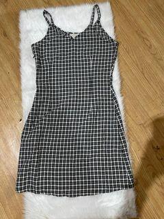 Gingham Sleeveless Dress