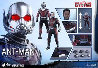 Hot Toys Ant Man Civil War