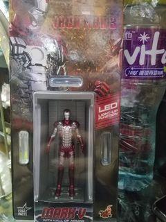 全新原裝正貨hot toys Iron Man 3 發光 mark 5