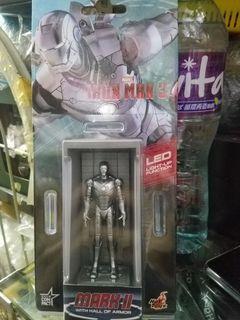 全新原裝正貨hot toys Iron Man 3 發光 mark II