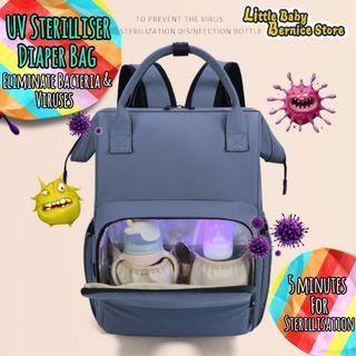 [INSTOCK] UV Sterilizer Diaper Bag