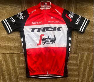 Jersey sepeda roadbike trek Segafredo not ori