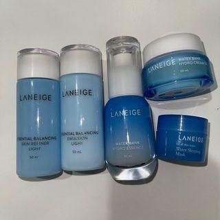 Laneige trial kit set Light