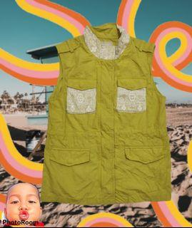 Little Brenn Yellow Vest