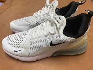 Nike air max 270 白 二手 us9 27cm