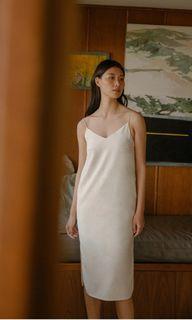 OSN Linen Slip Dress