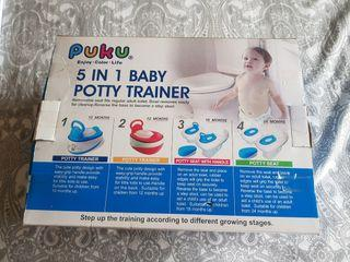 Puku 5 in 1 Baby Potty Trainer 4 Sale.