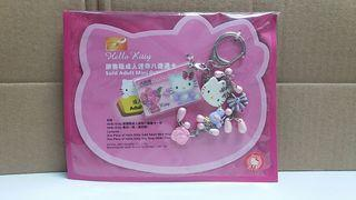 Sanrio Hello Kitty 粉紫花花 成人迷你八達通 Adult mini octopus