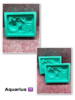 Square Horoscope Silicone Mould Part 1