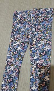 Toddler floral pants